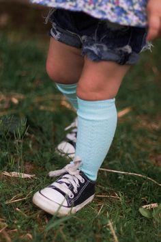 dcc5faffc Baby Knee High Socks Baby Girl Boy Hand Dyed RainbowColors High Socks  Outfits