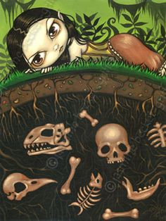 Jasmine Becket-Griffith - The Bones In The Ground