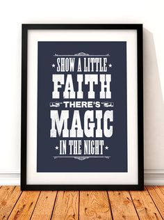 Bruce Springsteen song lyric art Bruce by TheIndoorType on Etsy