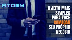 Seja líder GLOBAL na ATOMY, o pré-marketing no Brasil já começou | cada... E Commerce, Marketing Digital, Online Business, Youtube, Nova, Shopping, Direct Sales, Entrepreneurship, Social Networks