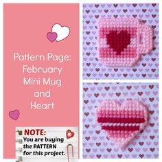 """""""Sew"""" easy to make something special for your Valentine! ♡"""