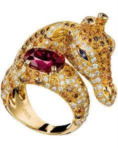 {Daily Jewel} Boucheron Zarafah Ring - Haute Tramp