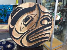 """MT @olsonauctions: This fantastic 36"""" cedar carving from Trevor Hunt will be up for #auction Feb 21 #AboriginalBC"""