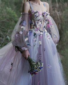 petal sea embroidered tulle fairy dress in 2020  mori