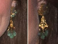 12.04.2016 The Duchess was in a pair of earrings that looked new to me, but it turns out they are not new.