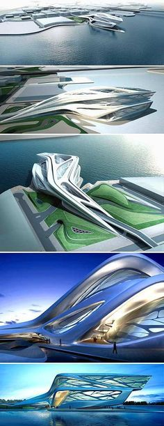 Zaha Hadid\'s Sleuk Rith Institute Sprouts like a Forest in ...