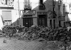 Barricadas en Toledo