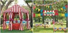 I totally want to do a Carnival themed party!