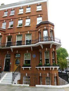 mark twain's home in london