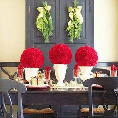 centros de mesa en navidad