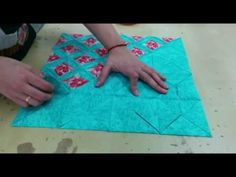 TUTORIAL Nº8 PATCHWORK CATHEDRAL WINDOWS - YouTube