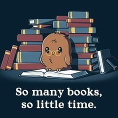 So viele Bücher, so wenig Zeit - T-Shirt / Herren / S- Best Picture For Books To Read poetry For Your Taste You are looking for something, and it is going to tell y Cute Cartoon Drawings, Cute Animal Drawings, Kawaii Drawings, Cute Animal Quotes, Cute Animals, Cute Harry Potter, Book Memes, I Love Books, Cartoon Wallpaper