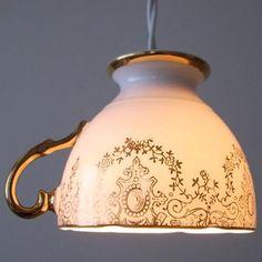 Japanese tea cup lamp!
