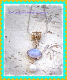 #Bijoux de Mode en argent or pierres semi precieux #necklace