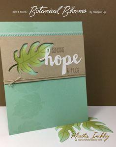 Martha Inchley, Botanical Blooms, Botanical Builder, Stampin Up, Stamp Review…