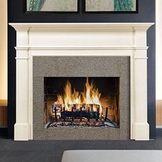 sydney wood mantel
