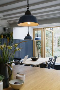 The Curated Home embraces the ordinary language of the Victorian vernacular and contemporary design to create an extra-ordinary home for our clients, their children and their home run business in Balham, South London. Quirky Kitchen, Kitchen Ideas, Kitchen Designs, Country Kitchen, Interior Architecture, Interior Design, Sustainable Architecture, House And Home Magazine, Farmhouse Design