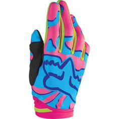 Women's Fox Racing Atv Gloves Shop for Gloves at Rocky Mountain ATV/MC. In addition to Gloves, browse our full selection of Riding Gear. Mtb Gloves, Motorcycle Gloves, Motorcycle Outfit, Fox Racing Clothing, Fox Racing Logo, Hjc Helmets, Motocross Gear, Pink Fox, Bicycle Girl