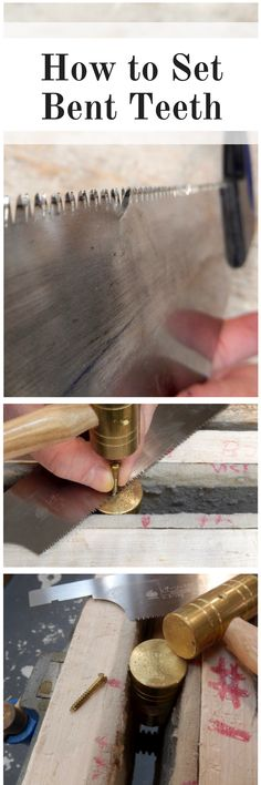 How to Set Bent Teeth on a Japanese Style Saw - Popular Woodworking Magazine