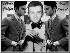 """Put somebody you love in the audience in your mind and work for them,""...#noelcoward it's coming @chriscolfer"