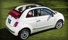 the new fiat 500 convertible... one day you will be mine