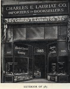 Charles E. Lauriet & Co., Importers and Booksellers ~ Boston