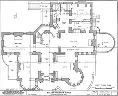 Gilded Era Mansion Floor Plans On Mansion Marble House Floor Plans