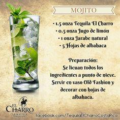 Mojito, con Tequila El Charro! #Tequila #TequilaElCharro #Coctel #Cocktail #Mojito Fruit Drinks, Drinks Alcohol Recipes, Bar Drinks, Wine Recipes, Alcoholic Drinks, Cocktail Glass, Cocktail Drinks, Cocktail Recipes, Mojito Recipe