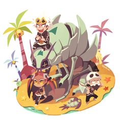 """Poor Gladion is in the back and Guzma is all like """"IM SOO COOOOL!"""""""
