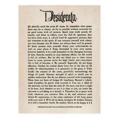 Shop Vintage Desiderata - Postcard created by WayFarOut. Personalize it with photos & text or purchase as is! Wedding Crashers Quotes, Max Ehrmann, Design Your Own Poster, Verbatim, Desiderata, Personalized Wall Art, Quotable Quotes, Custom Posters, Spiritual Quotes