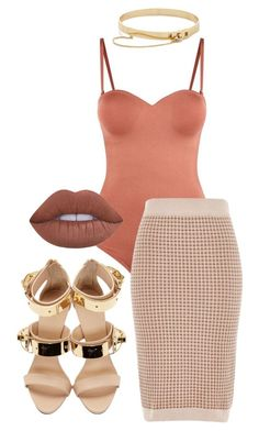 """Untitled #239"" by milly-oro on Polyvore featuring Prism, Eddie Borgo, River Island, Giuseppe Zanotti and Lime Crime"
