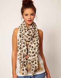 Buy River Island Leopard Print Scarf at ASOS. With free delivery and return options (Ts&Cs apply), online shopping has never been so easy. Get the latest trends with ASOS now. River Island, Asos, Animal Print Fashion, Animal Prints, Leopard Print Scarf, Leopard Prints, Cute Scarfs, Fashion Beauty, Womens Fashion