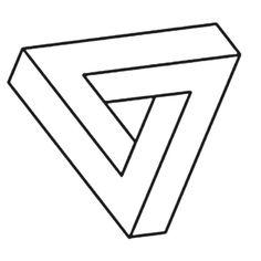 triangle trompe l'oeil - Recherche Google