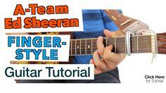 ► A-Team - Ed Sheeran ★  Fingerstyle Guitar Tutorial ★ Lesson ★ (HQ)