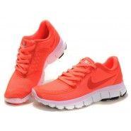 buy online 05c9a aa912 Original Nike FREE 5.0 V4 Dam Löparskor Total Orange billig