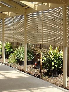 Fence with Lattice - Better Homes and Gardens - Home Decorating