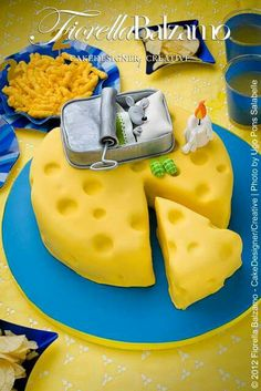 A Mouse and his Cheese