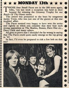 Small Faces - The Radio Luxembourg February 1967