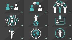 100 Element Icons People | After Effects template