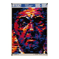 1985 Orignal Polish Witkasy Exhibition Poster Polish Posters, Exhibition Poster