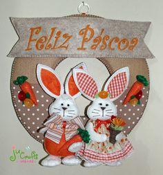 Ju Crafts!: Ate a próxima coelhinhos!!! Diy And Crafts, Crafts For Kids, Easter Baskets, Easter Crafts, Spring Time, Easter Bunny, Tablescapes, Macrame, Rabbit