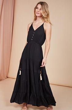c047d0a3b1f Annie Tiered Maxi Dress - FINAL SALE