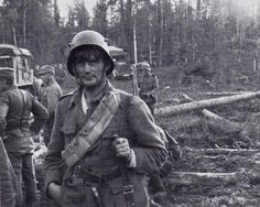 An experienced finnish scout patrol leader. These soldiers were provided with a fabulous sense of orientation according to their german comrades.