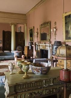 The Drawing Room at Mount Stewart. ©National Trust Images/John Hammond