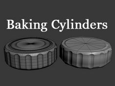 Game Assets - Baking Cylinders - YouTube
