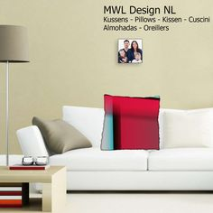 Pillow MWL Design NL 40 x 40 cm   from MWL Design NL Living design and accessories  by DaWanda.com
