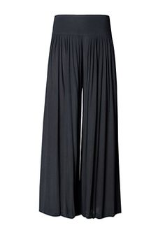 black pants with flare!