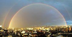 『二重の虹』が東京上空に出現!まるで異世界への入り口と話題に