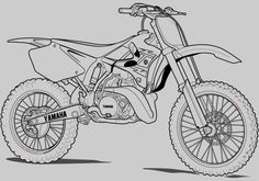 motorcycle coloring pages | Kids Slot Machine Will Trade For Dirt Bike Free Bestility Monkey