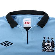 Umbro Manchester City 2012 Long Sleeved Home Shirt